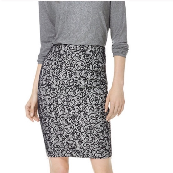 Wilfred x Aritzia Knee-Length Lace Skirt